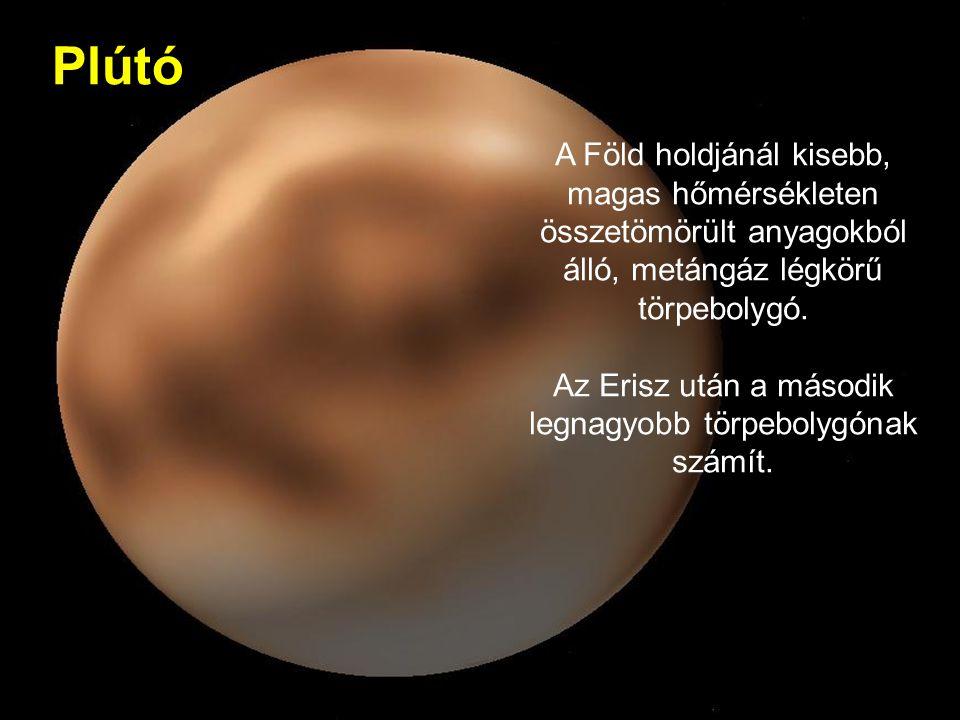 Az Erisz után a második legnagyobb törpebolygónak számít.