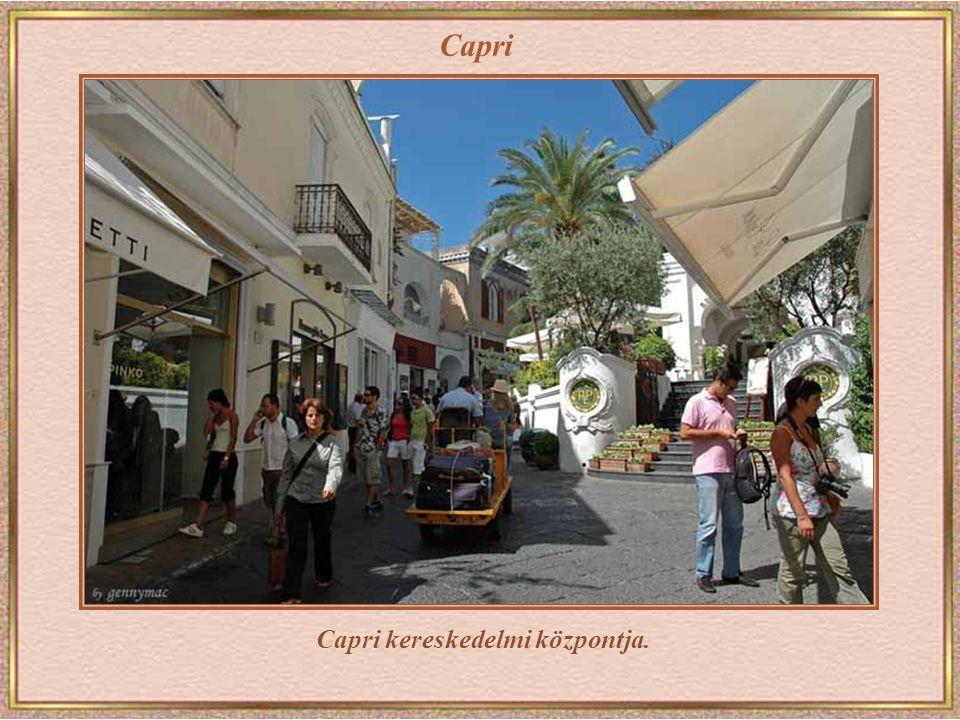 Capri kereskedelmi központja.