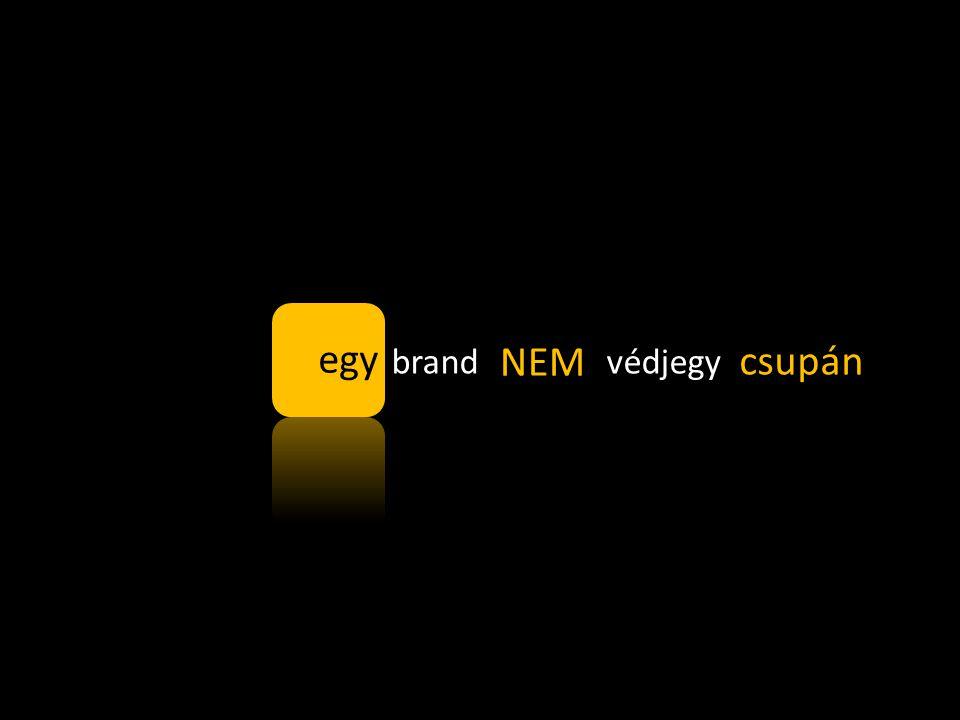 brand = védjegy egy NEM csupán