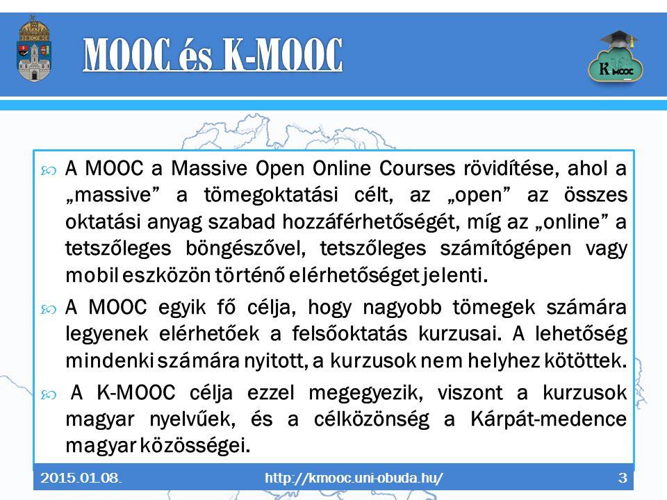 MOOC és K-MOOC
