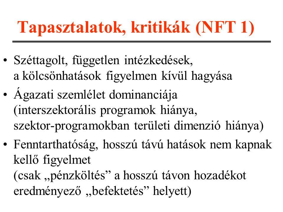 Tapasztalatok, kritikák (NFT 1)