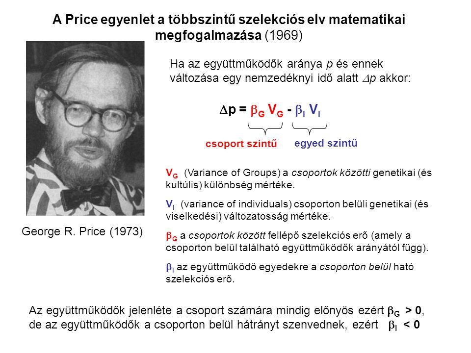 A Price egyenlet a többszintű szelekciós elv matematikai