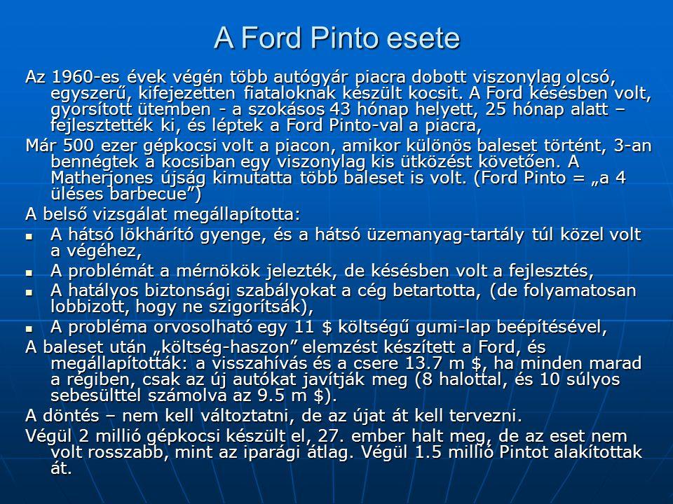 A Ford Pinto esete