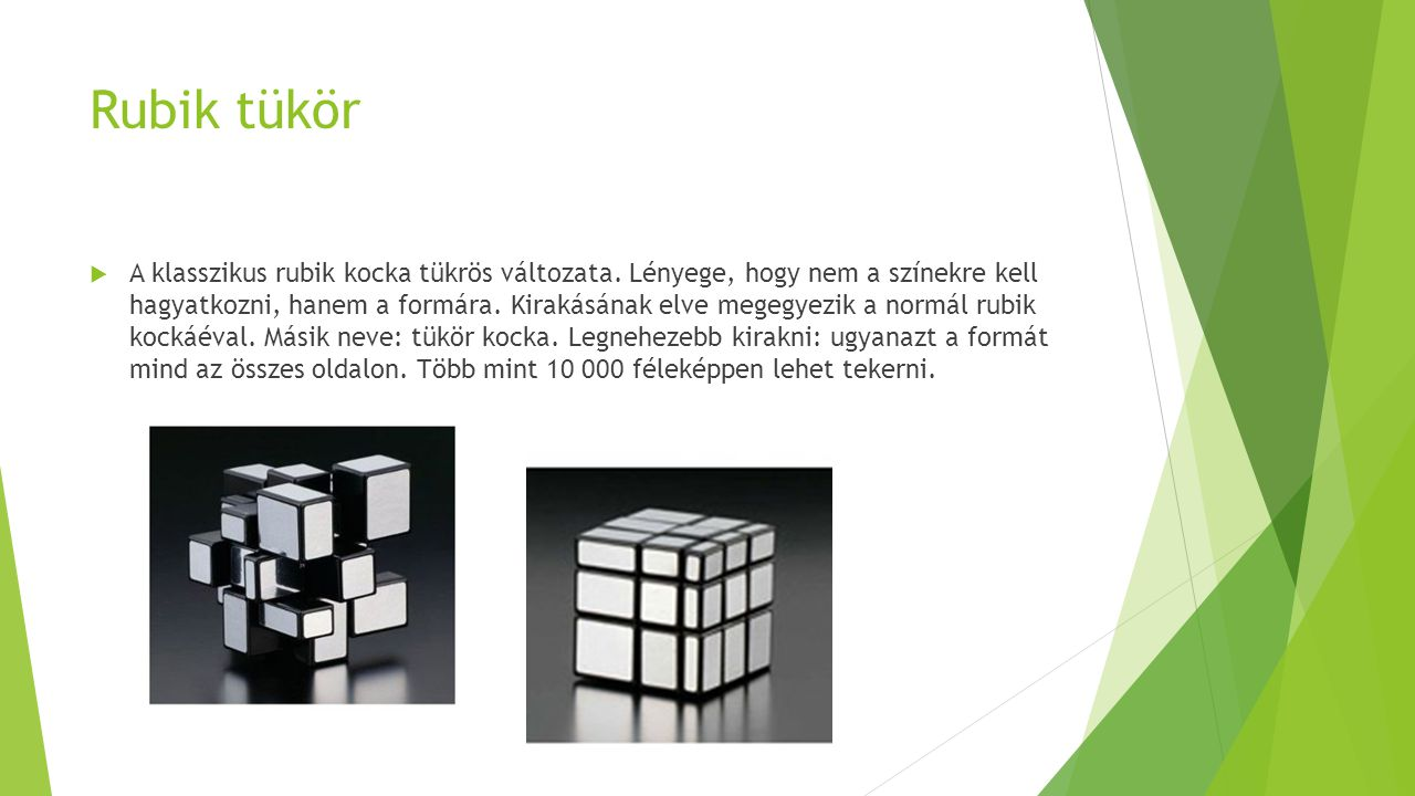 Rubik tükör