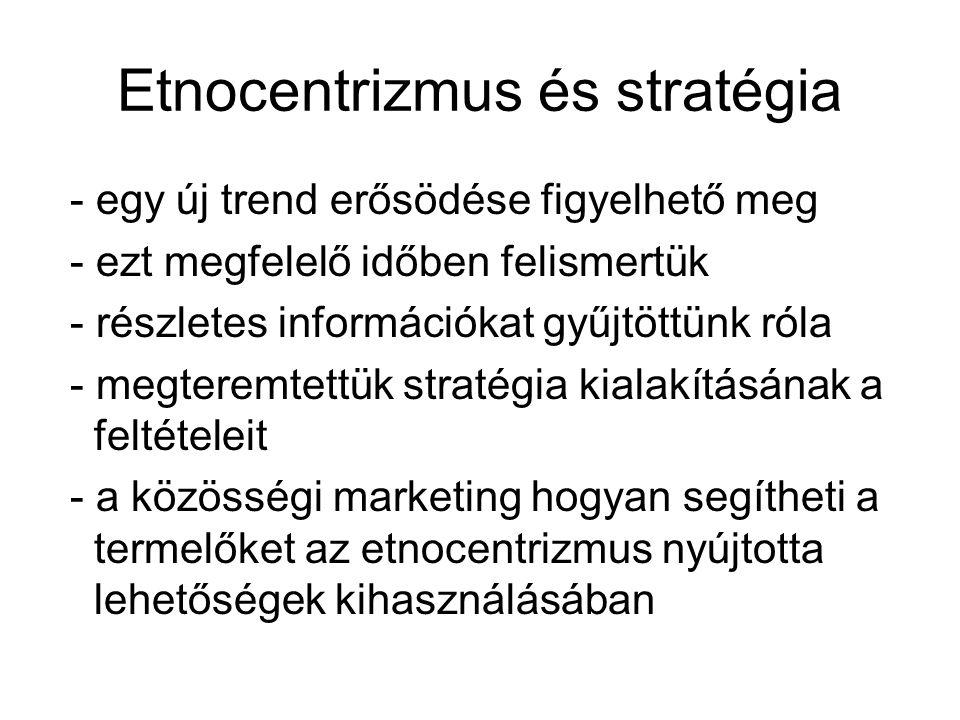 Etnocentrizmus és stratégia