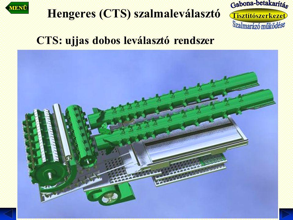 Hengeres (CTS) szalmaleválasztó