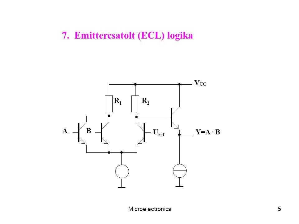 7. Emittercsatolt (ECL) logika