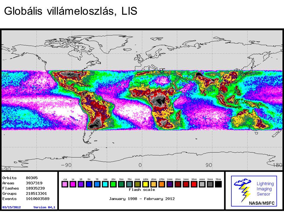 Globális villámeloszlás, LIS