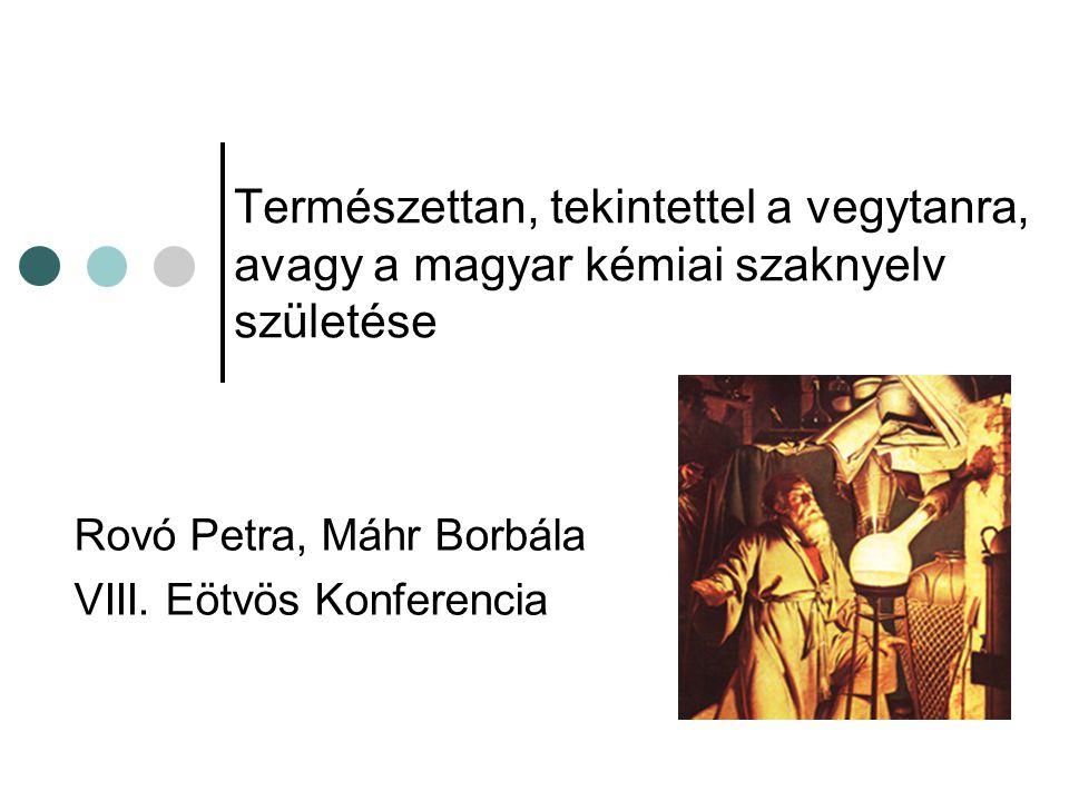 Rovó Petra, Máhr Borbála VIII. Eötvös Konferencia