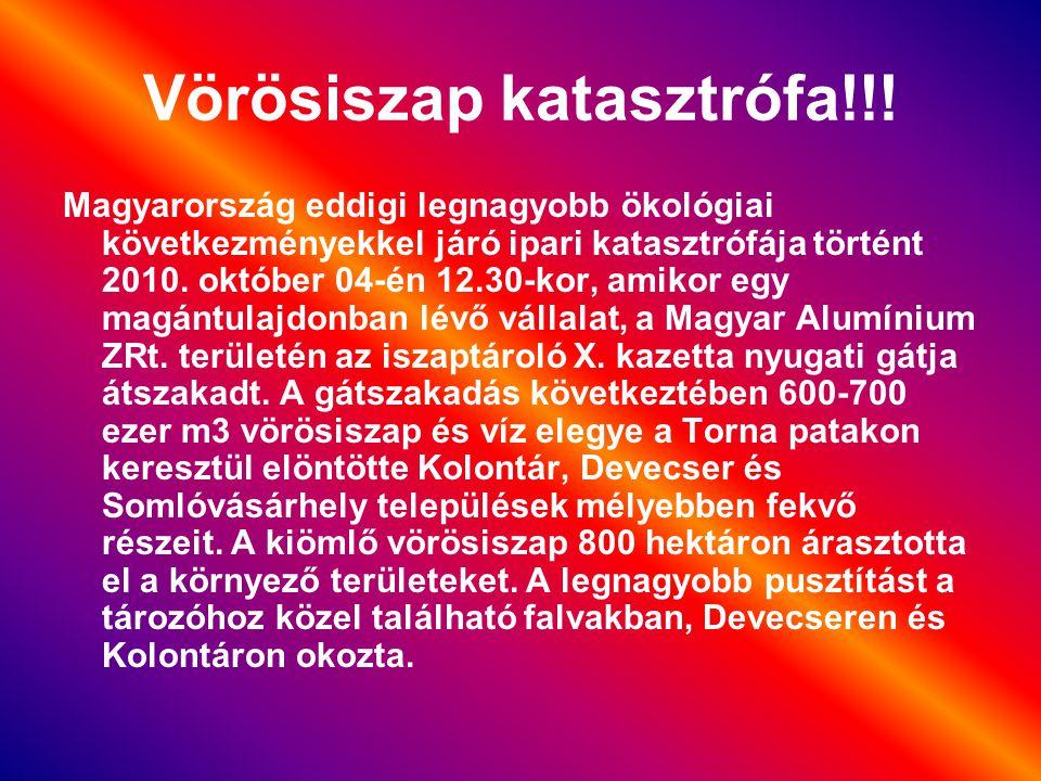 Vörösiszap katasztrófa!!!