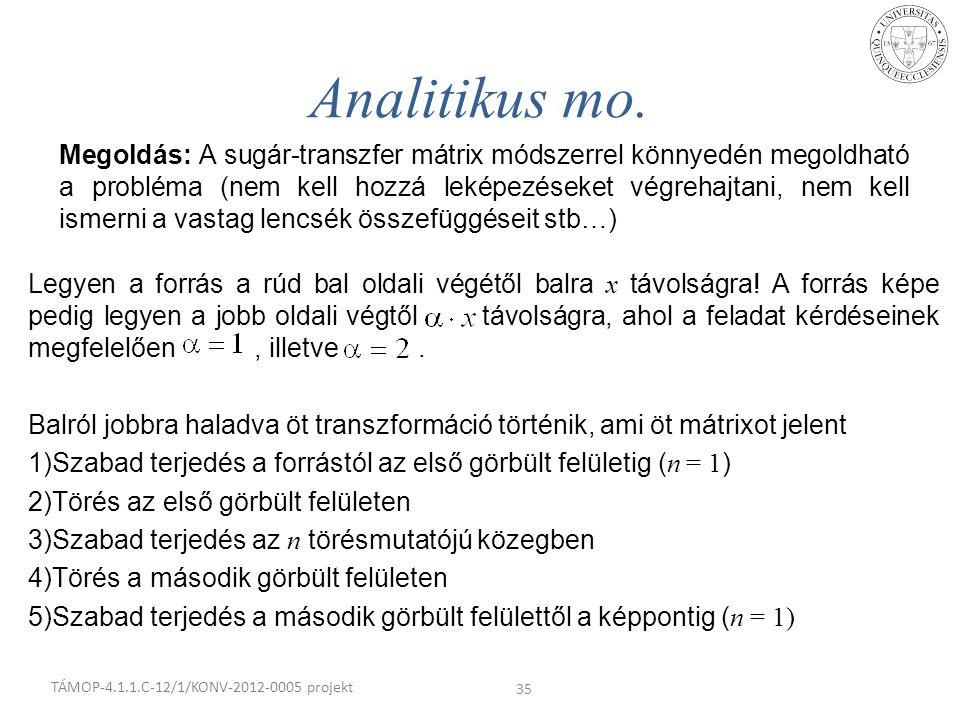 Analitikus mo.