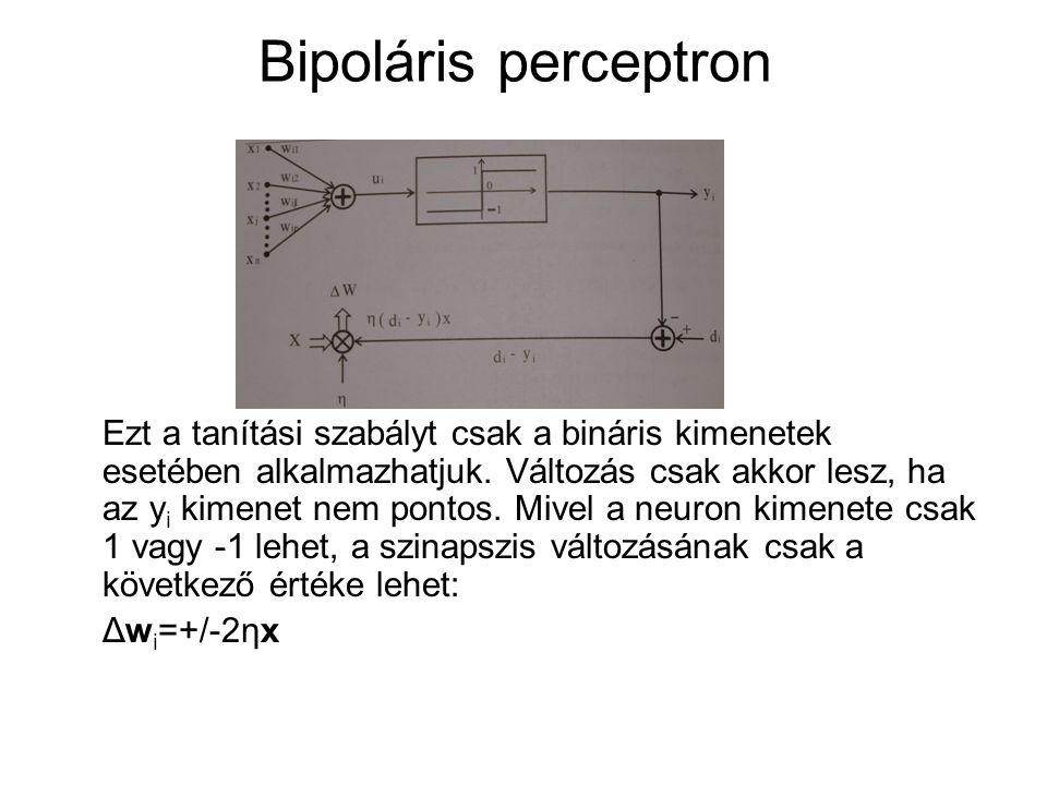 Bipoláris perceptron