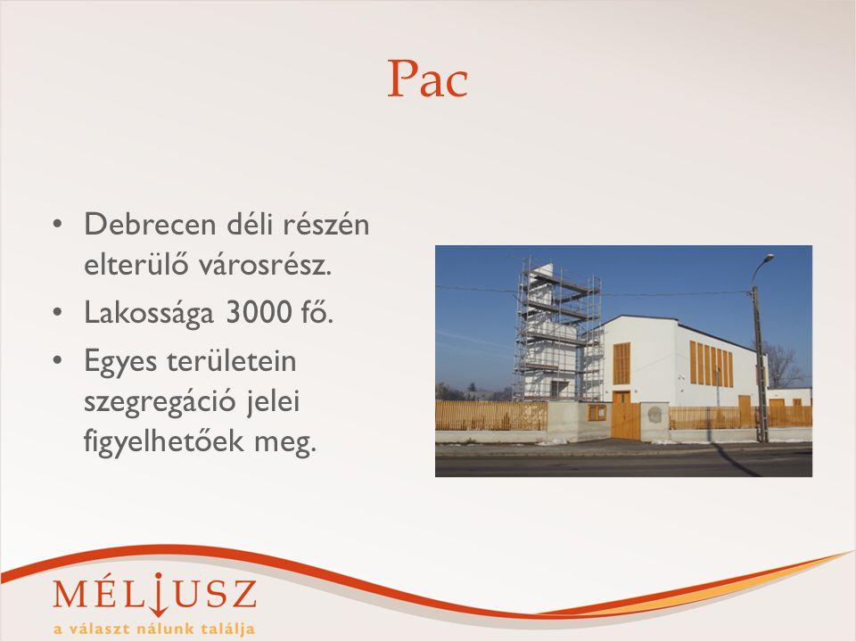 Pac Debrecen déli részén elterülő városrész. Lakossága 3000 fő.