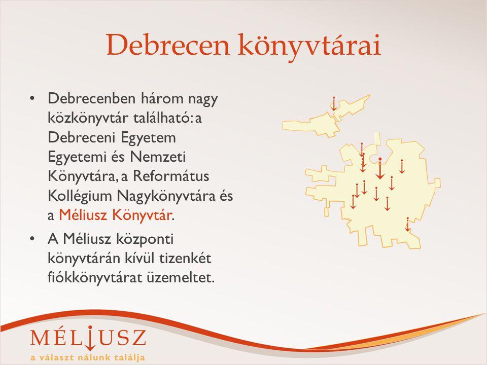 Debrecen könyvtárai