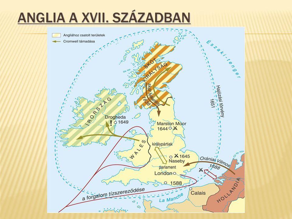 Anglia a XVII. században