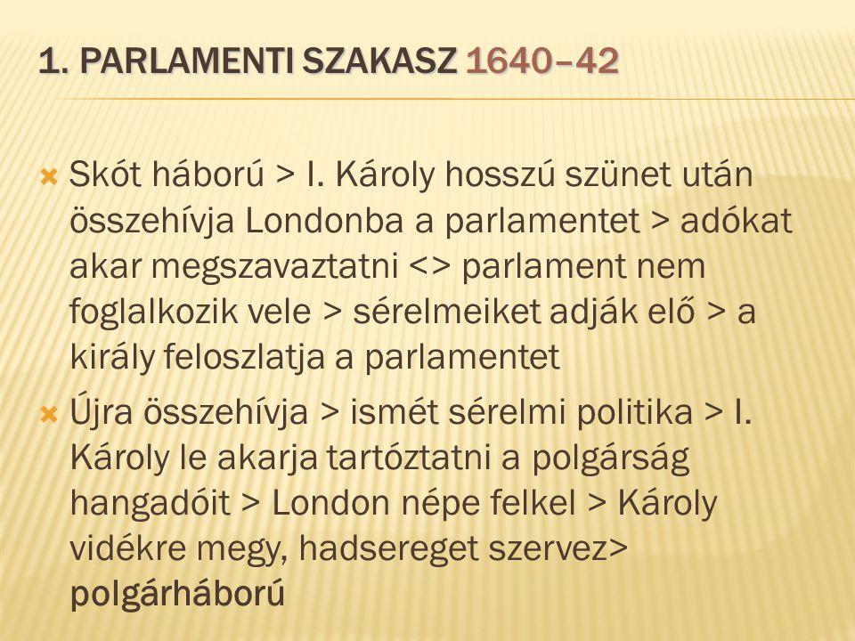 1. parlamenti szakasz 1640–42