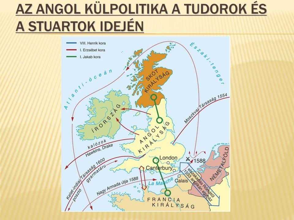Az angol külpolitika a Tudorok és a Stuartok idején