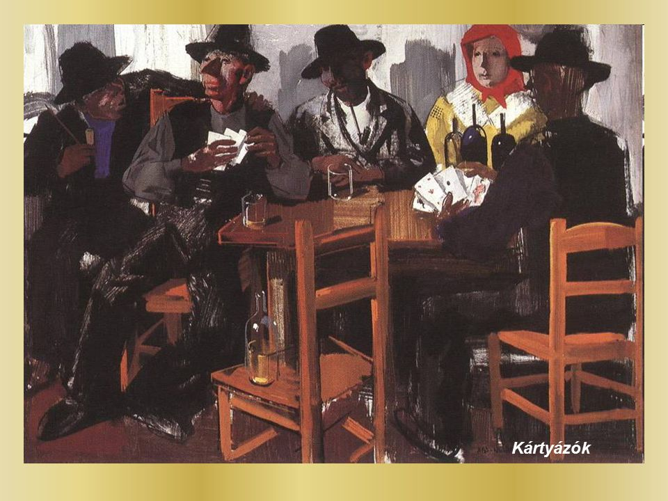 Kártyázók