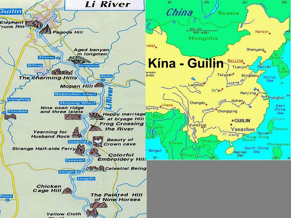 Kína - Guilin Kína