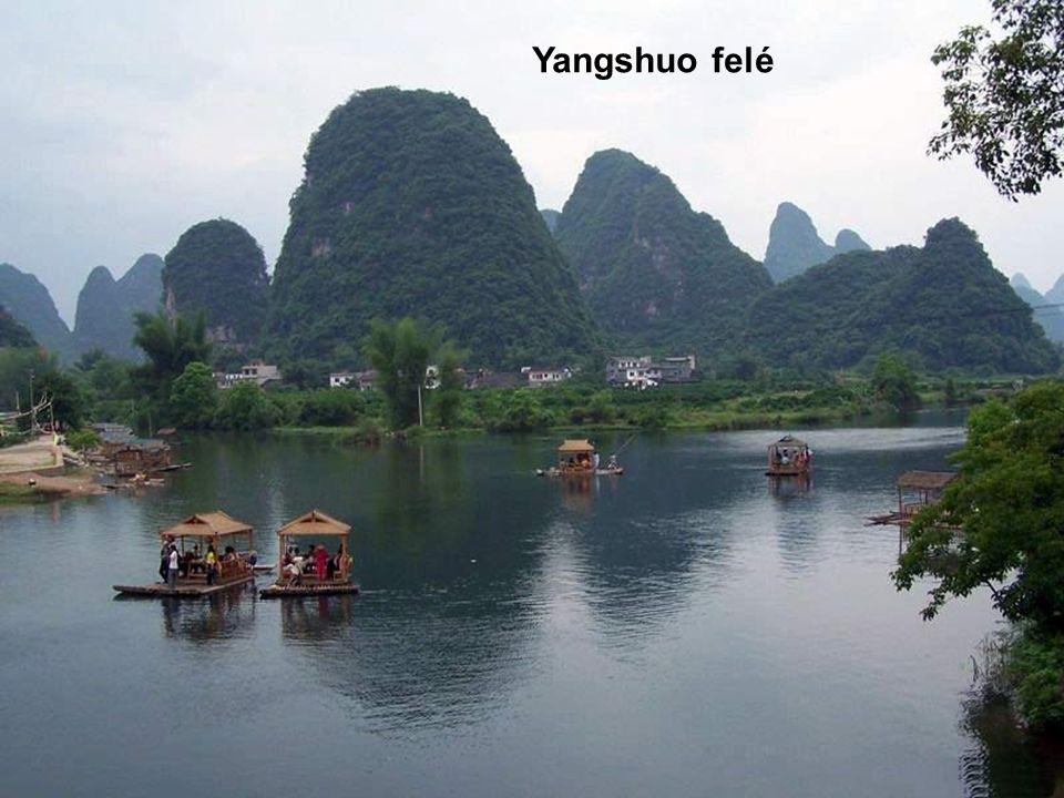 Yangshuo felé