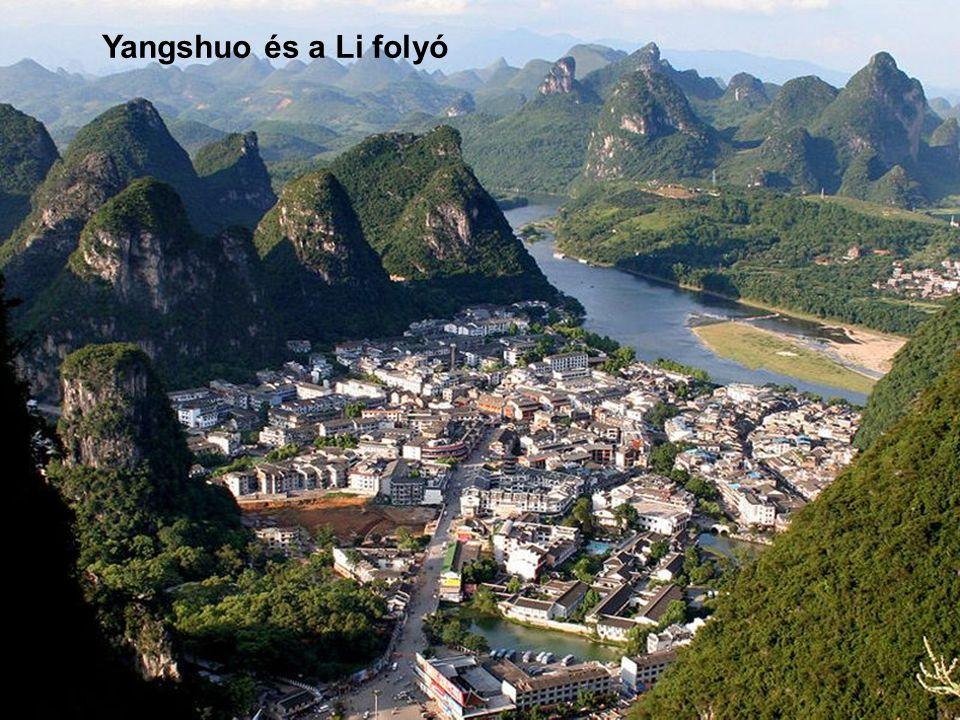 Yangshuo és a Li folyó