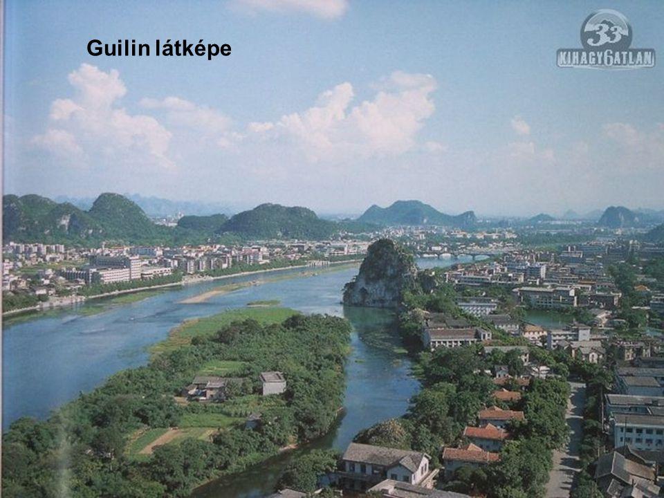 Guilin látképe