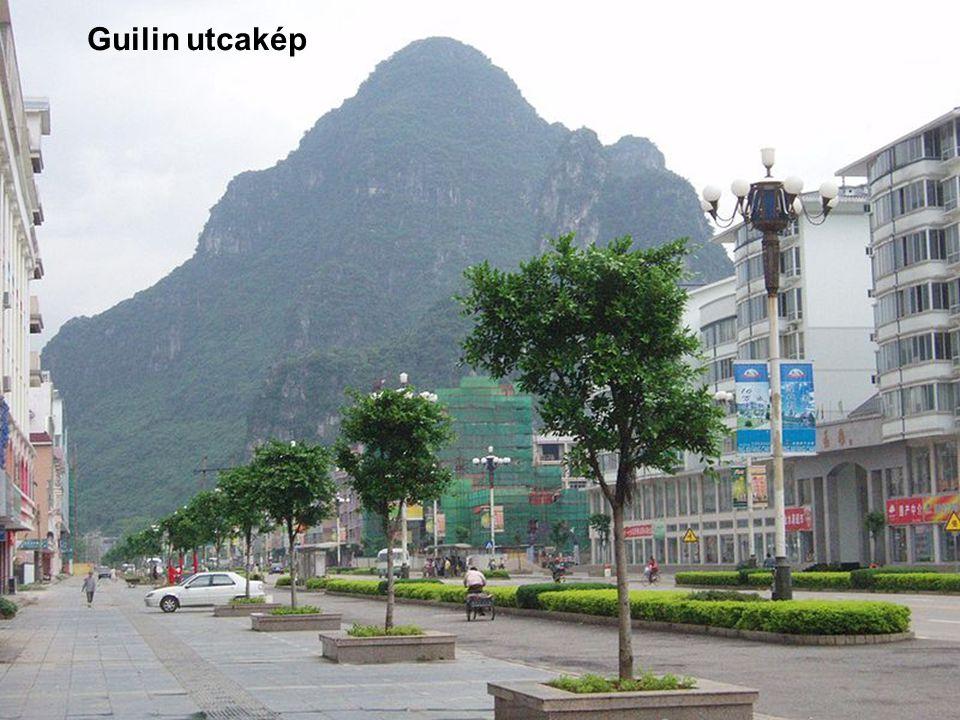Guilin utcakép