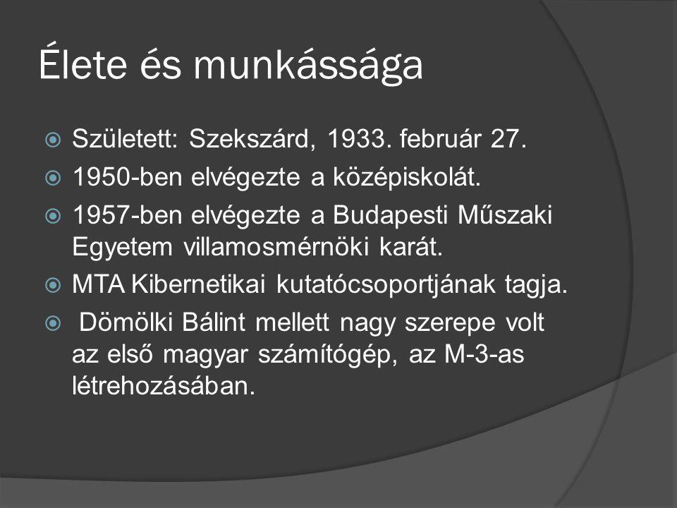 Élete és munkássága Született: Szekszárd, 1933. február 27.