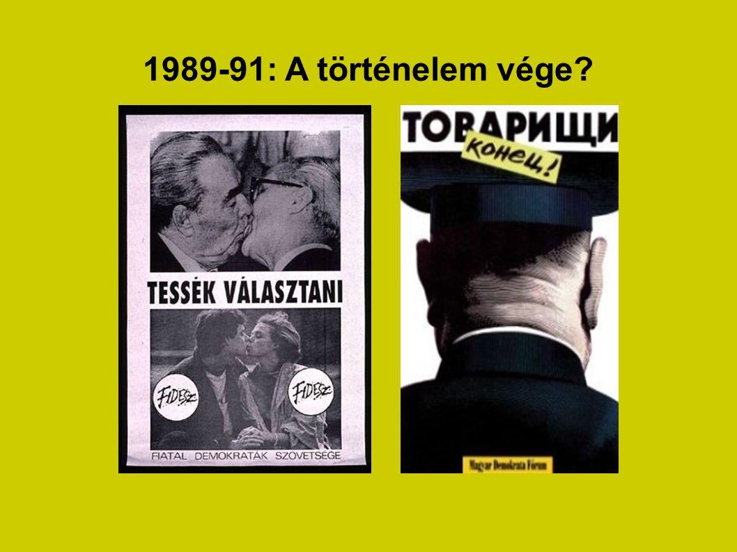 1989-91: A történelem vége