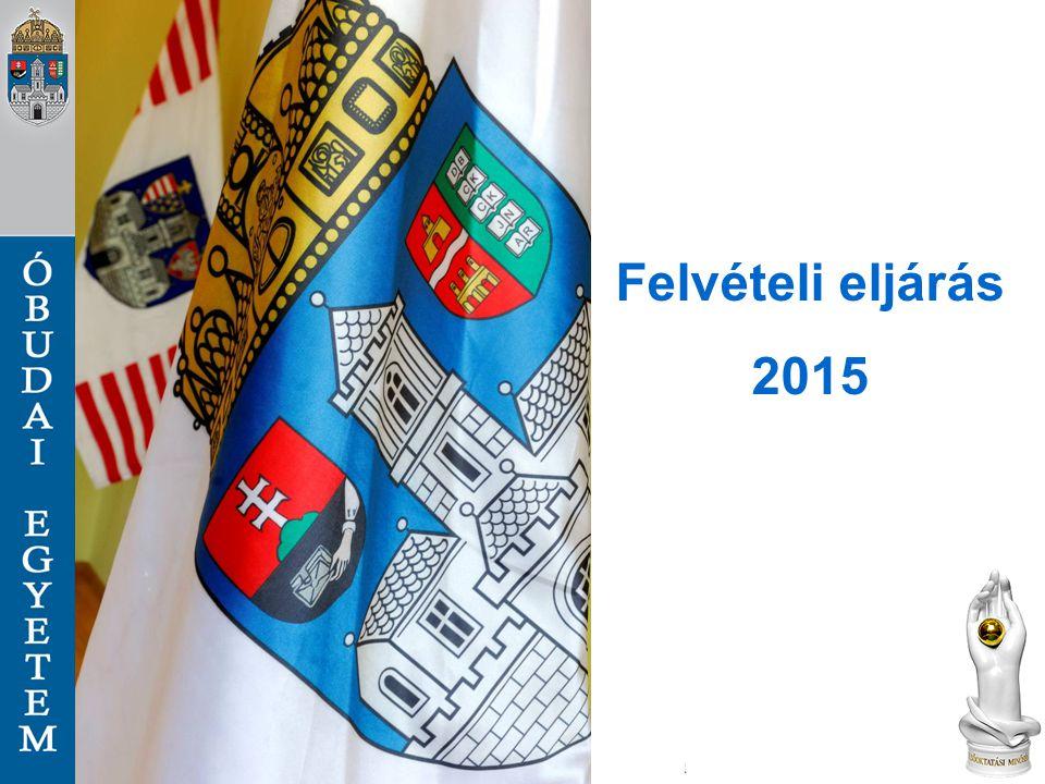 Felvételi eljárás 2015