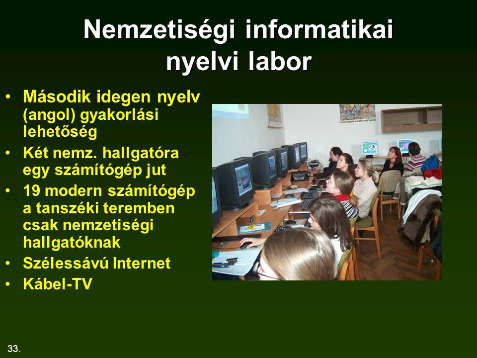 Nemzetiségi informatikai nyelvi labor