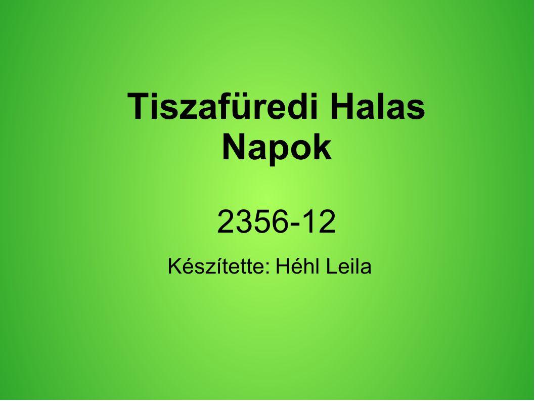 Tiszafüredi Halas Napok 2356-12