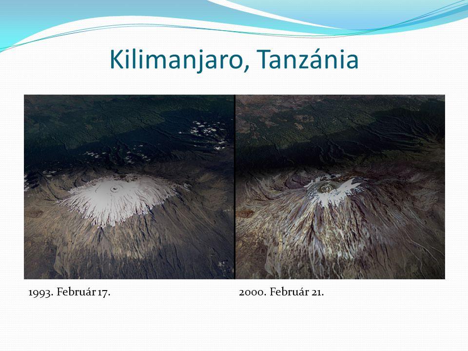 Kilimanjaro, Tanzánia 1993. Február 17. 2000. Február 21.