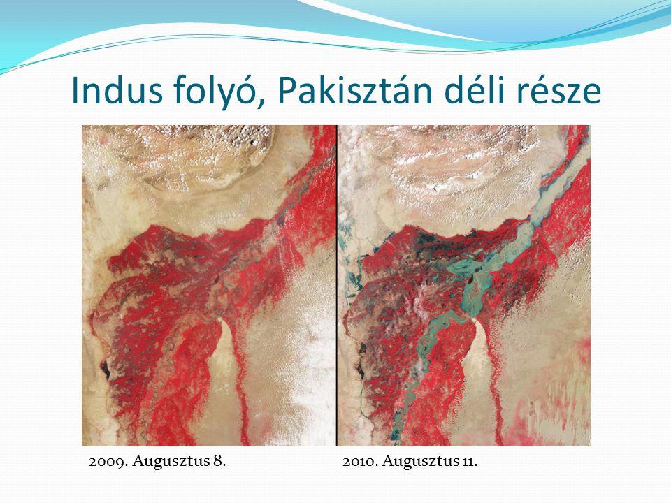 Indus folyó, Pakisztán déli része