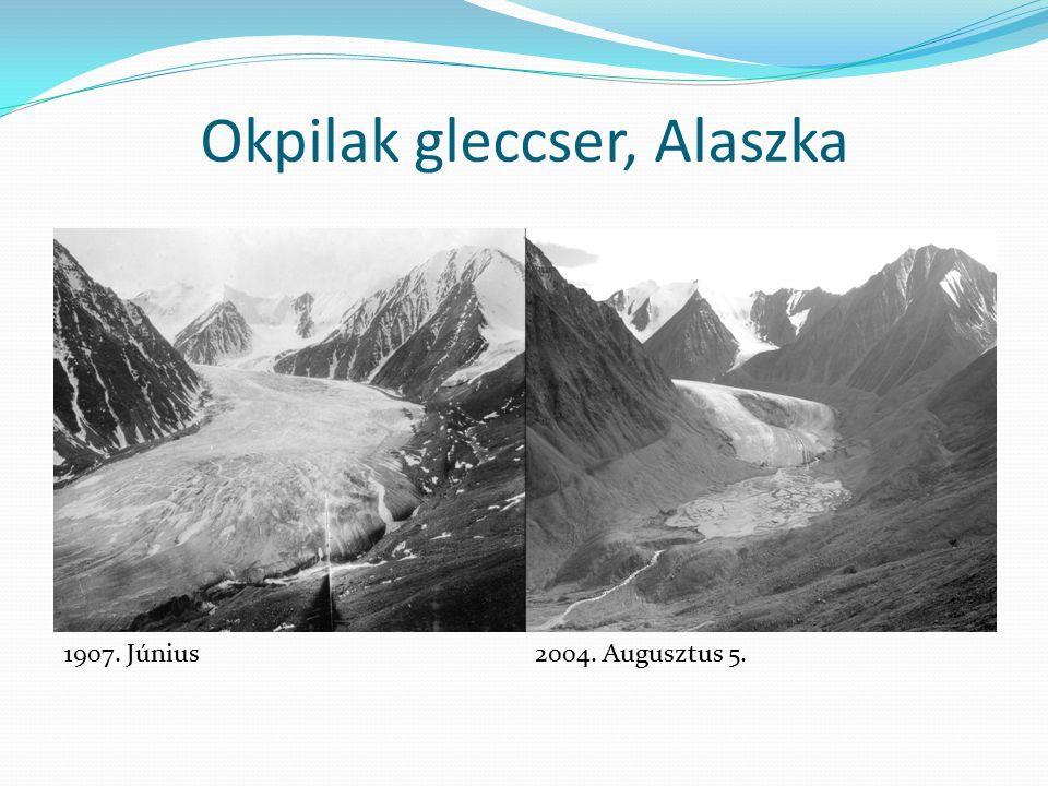 Okpilak gleccser, Alaszka