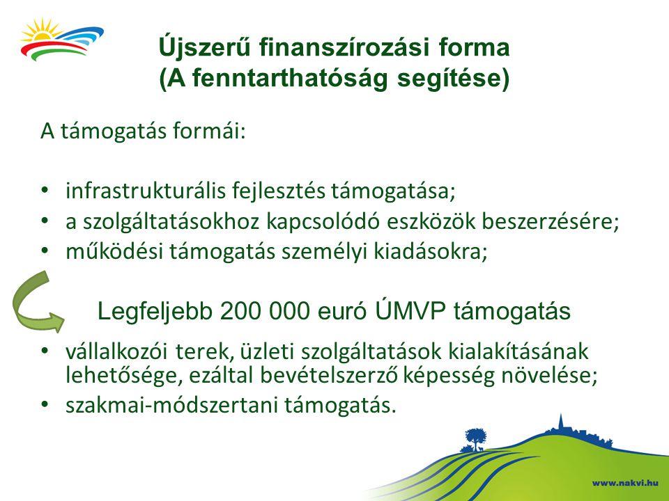 Újszerű finanszírozási forma (A fenntarthatóság segítése)