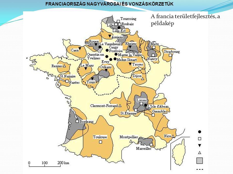 A francia területfejlesztés, a példakép