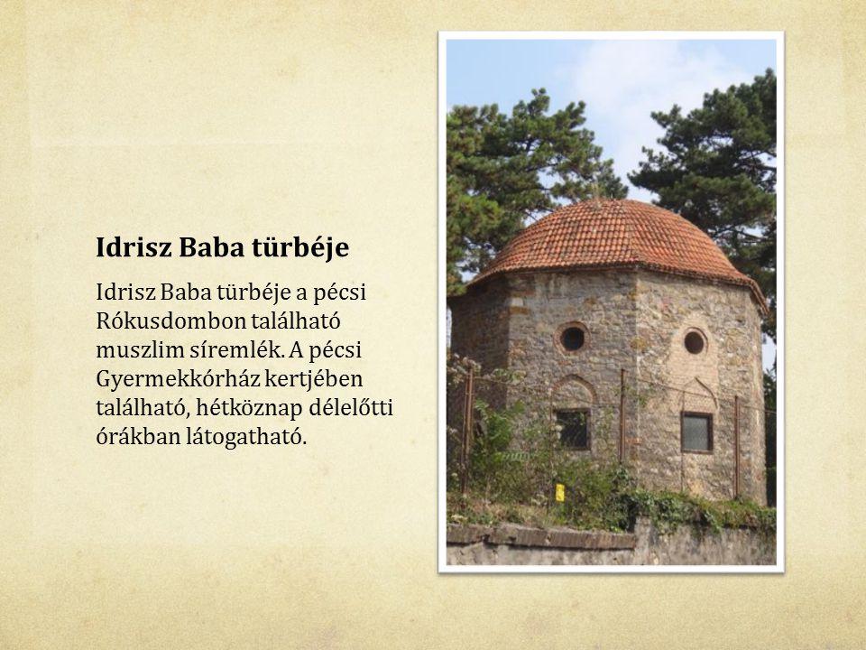 Idrisz Baba türbéje