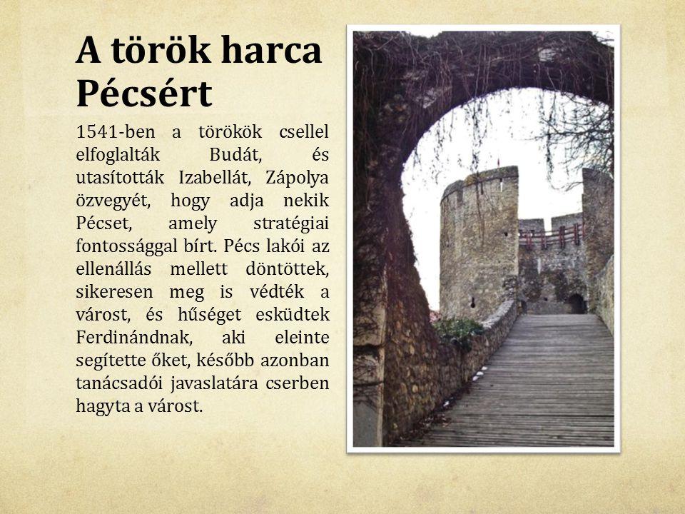 A török harca Pécsért