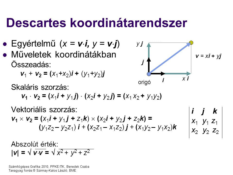 Descartes koordinátarendszer