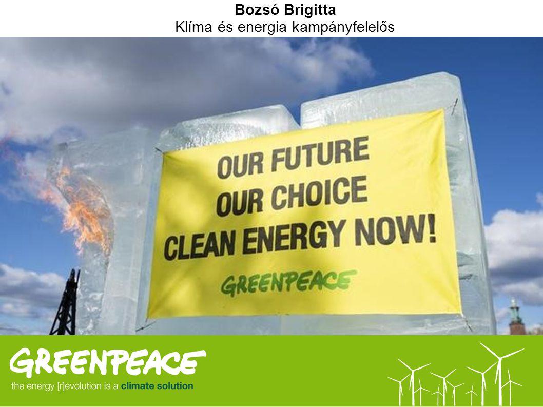 Klíma és energia kampányfelelős