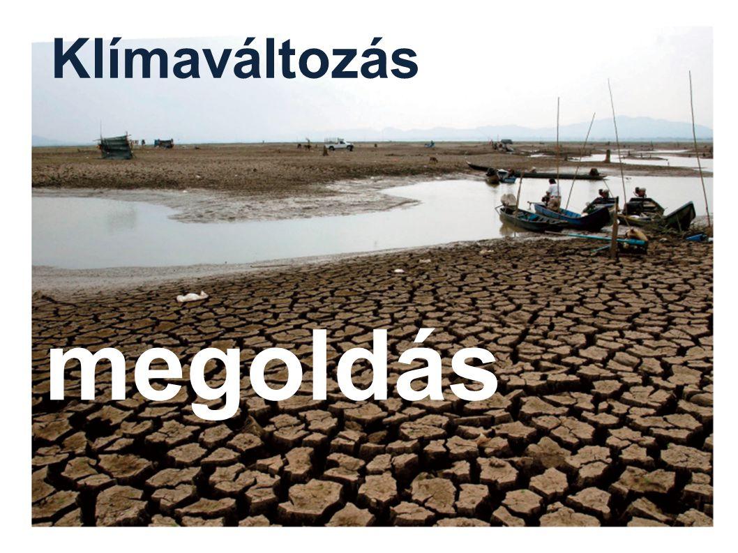 megoldás Klímaváltozás