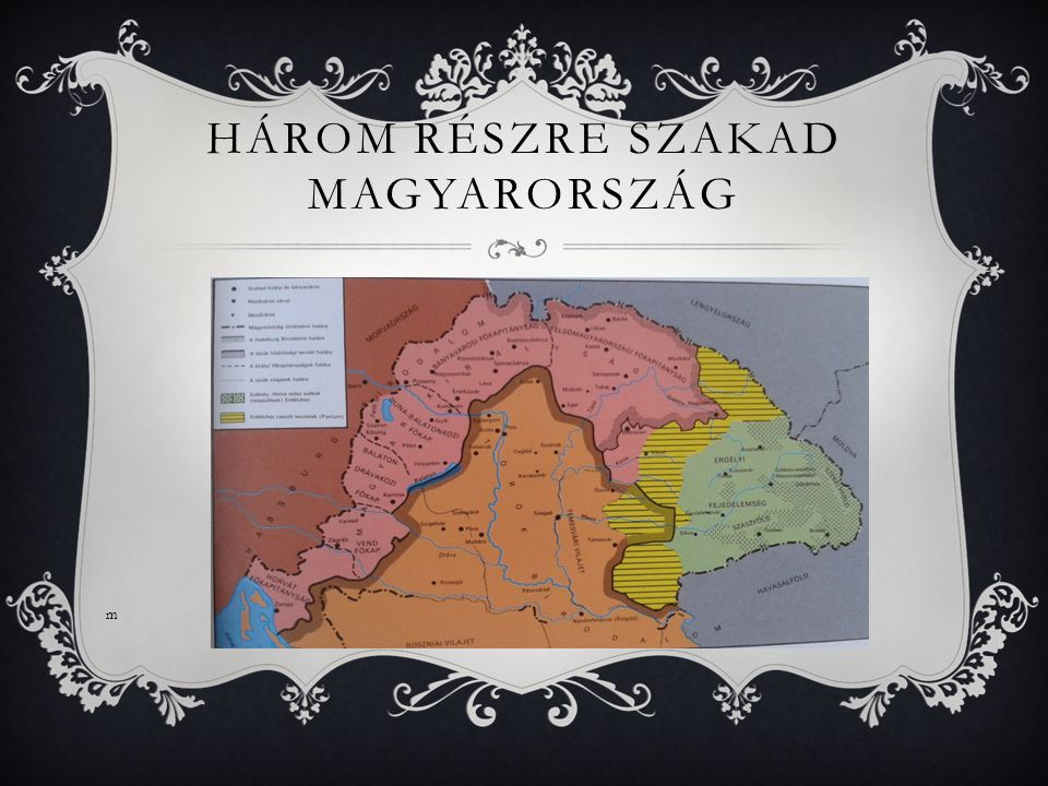 Három részre szakad magyarország