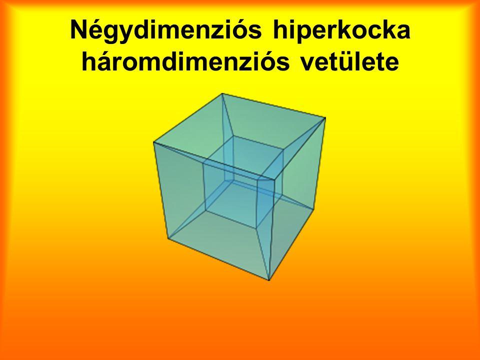 Négydimenziós hiperkocka háromdimenziós vetülete