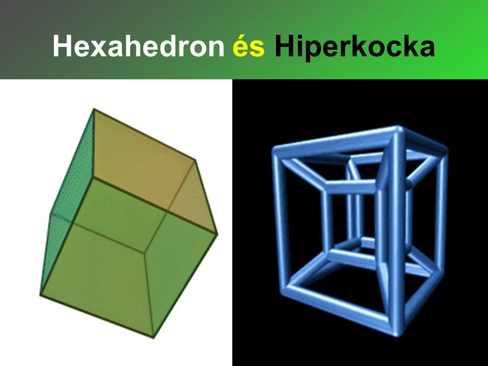 Hexahedron és Hiperkocka