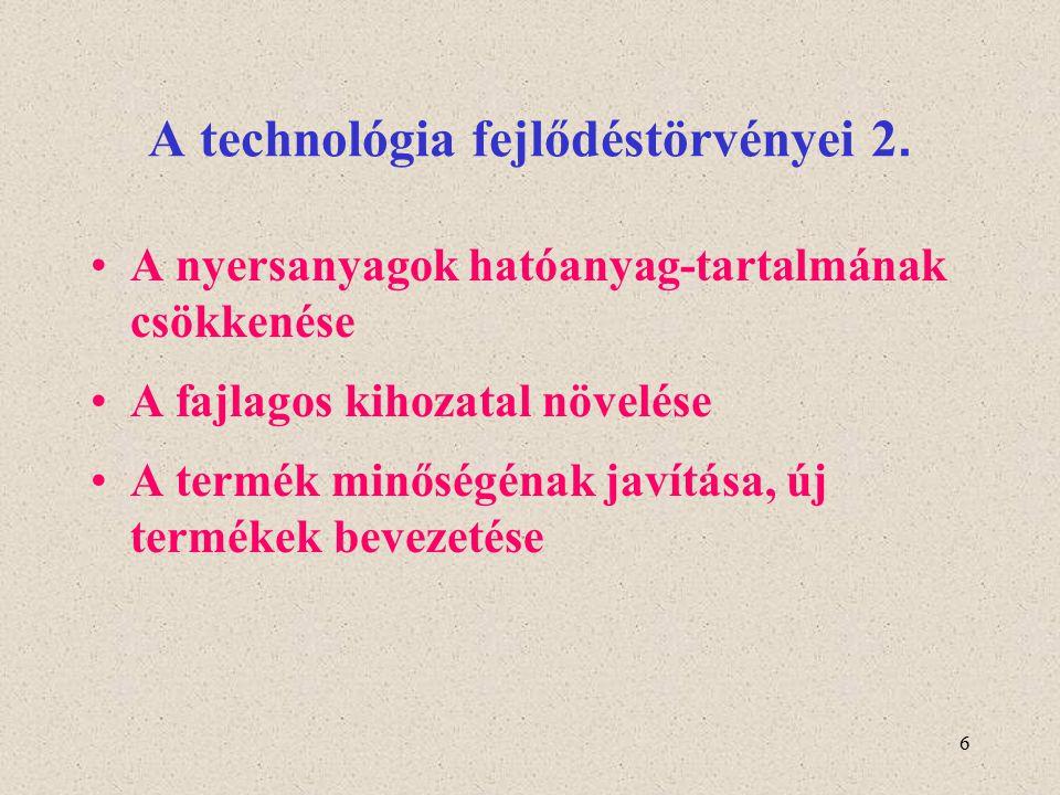 A technológia fejlődéstörvényei 2.