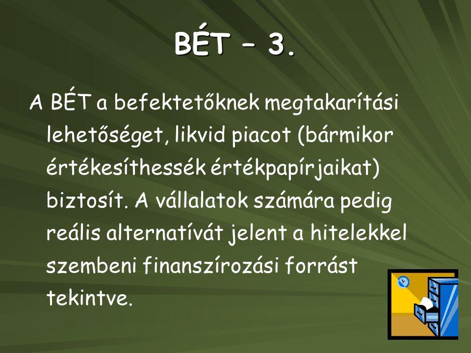 BÉT – 3.