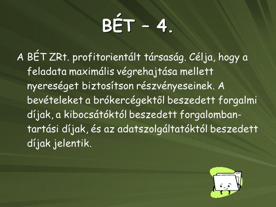 BÉT – 4.