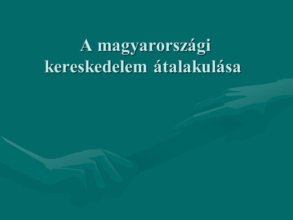 A magyarországi kereskedelem átalakulása