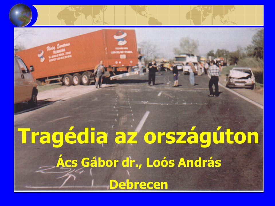 Tragédia az országúton Ács Gábor dr., Loós András